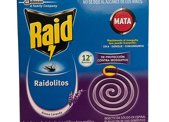Raidiolito Anti-Mosquitos Lavanda Raid