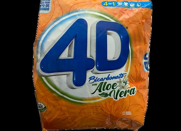 Detergente con Bicarbonato AloV 4D