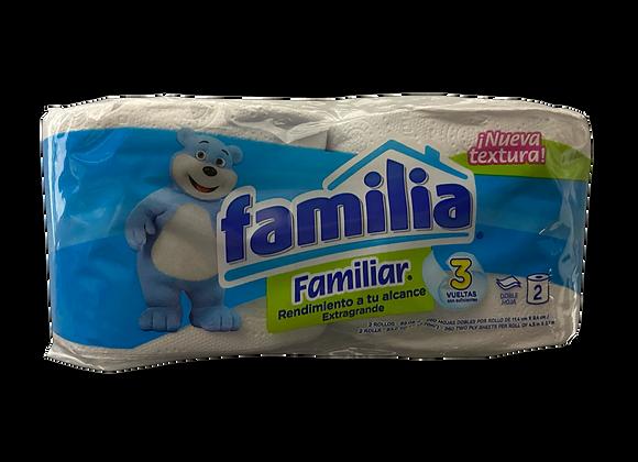 Papel Higienico Familiar Familia 2 Rollos