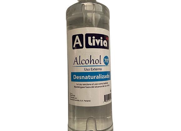 Alcohol Alivia al 70 porciento 24 oz