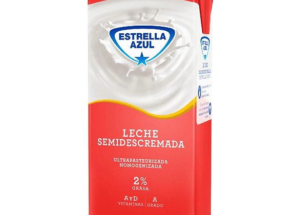 Leche SemiDescremada Estrella Azul