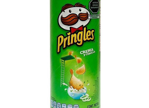 Pringles Chips Sabor Sour Cream&Onion 124gr