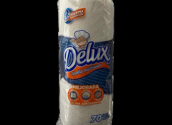 Papel Toalla Blanco 1 rollo Delux