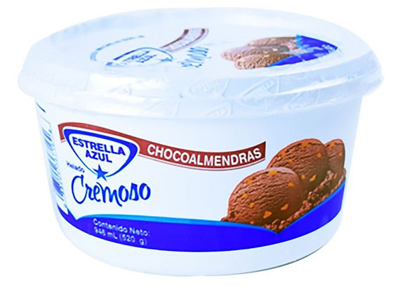 Helado de Choco Almendra Mediano 946ml