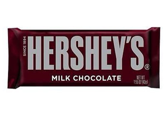 Hersheys Milk Chocolate 1.54oz