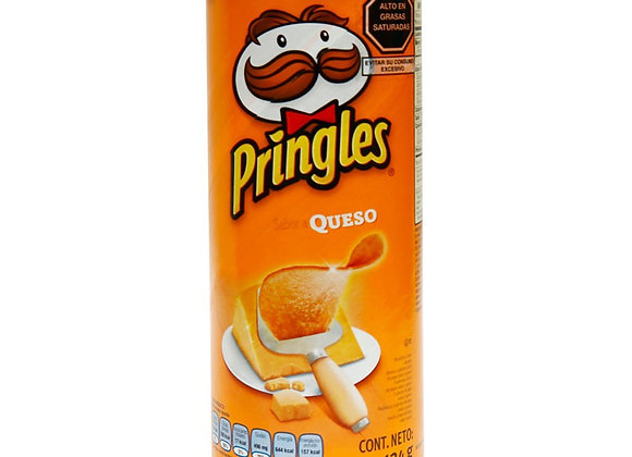 Pringles Chips Sabor Queso 124gr