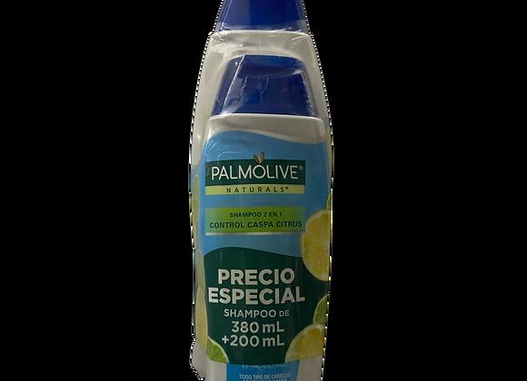 Shampoo Natural Palmolive 380ml