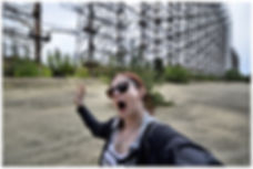 Ukraine and chernobyl travel blog, the woodpecker