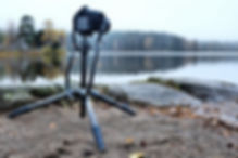 Vanguard VEO2 tripod at Sognsvann Lake Norway - Review