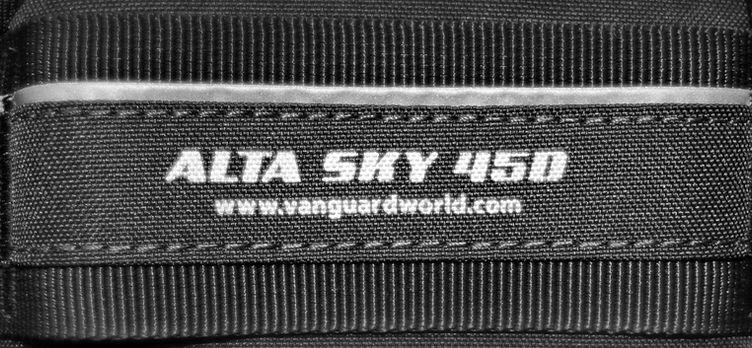 Vanguard alta sky 45d camera bag review