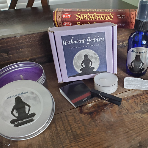 Host it Yourself! Full Moon Ceremony Kit