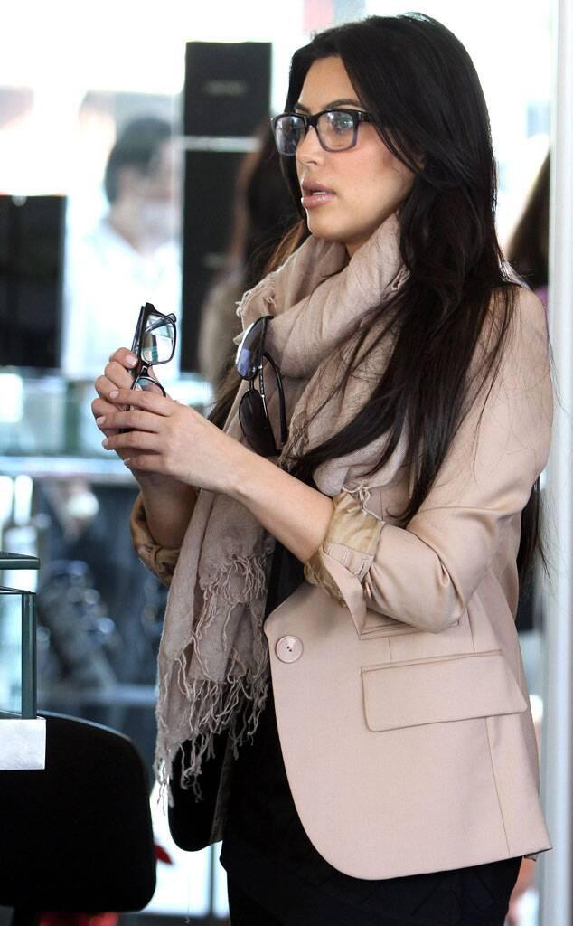 Kim Kardashian in Glasses