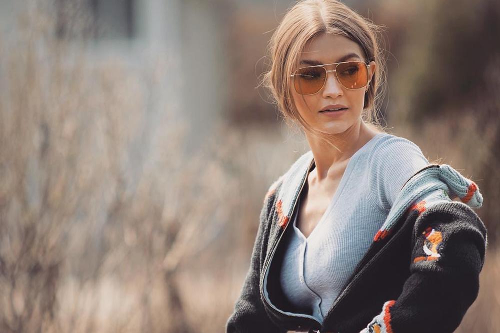 Gigi Hadid in Glasses