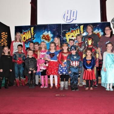 Christmas Super Heroes 2019