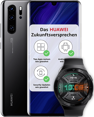 Huawei P30 Pro New Edition mit gratis Smartwatch