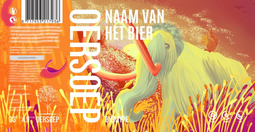 Oersoep - Beer label