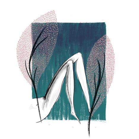 Illustration - revealing