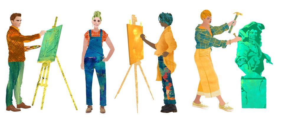 Characterdesign for animation Noordbrabantsmuseum 's Hertogenbosch