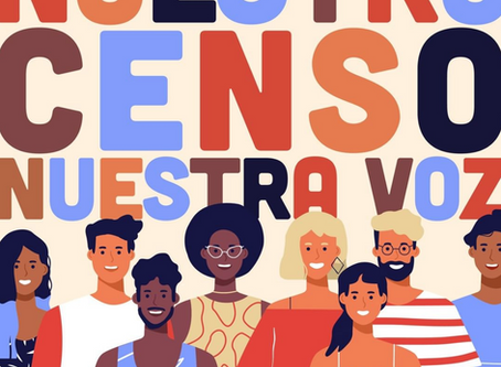 Census 2020 - Fill it out (Llene la forma)!