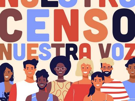 Census 2020 - Fill it out (Llene la forma)!
