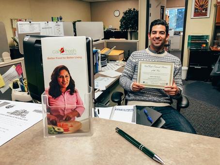 Congratulations, Arturo!