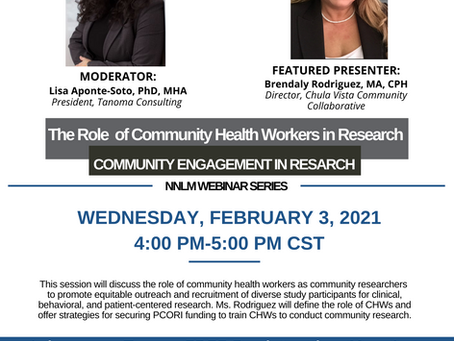 The Role of Community Health Workers in Research ft. Brendaly Rodriguez