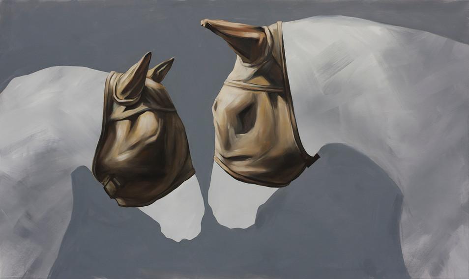 "Flymask Series -Untitled 10"" (Double Masks)"