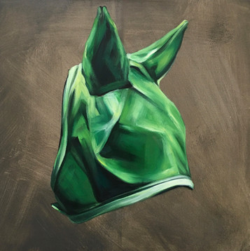 Flymask Series -Untitled 11(Kelly Green)