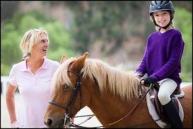Westside Riding School owner, Dorte Lindegaard