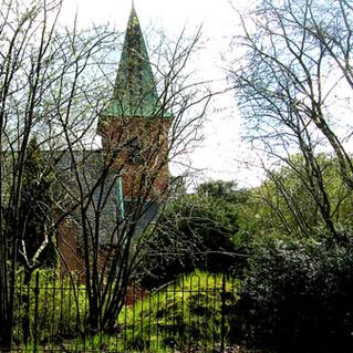 Humlebaek Kirke in Spring