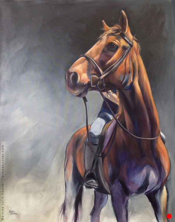 Horse and Rider •sold