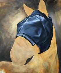 Flymask Series Untitled 5 (Deep Blue Mask)