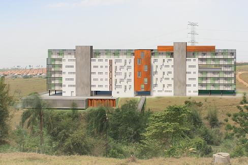 Concurso moradia estudantil Unifesp por Fernanda Almeida Arquitetura em Sao Jose dos Campos - fealmeida.com