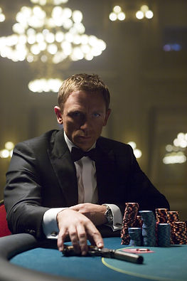 james bond poker chips daniel craig 2000