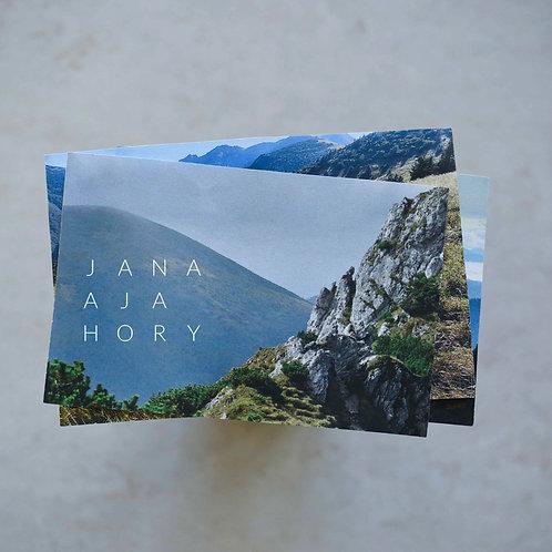 JANA A JA - Hory (EP, digital)