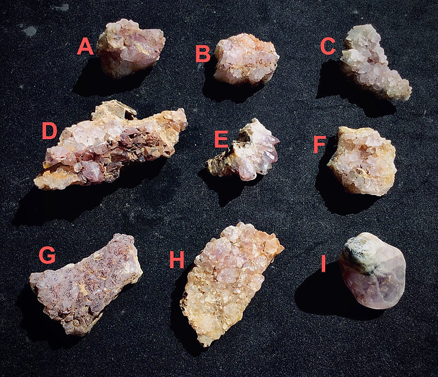 Scottish Amethyst Clusters