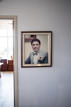 image a portrait on a wall