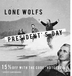 Lone Wolfs President's Day