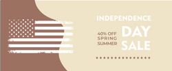 Independence day sale LUXE Banner -june