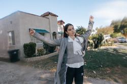 THE LA HOUSE photoshoot