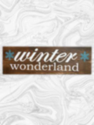 """Winter Wonderland 7"""" x 24"""""""