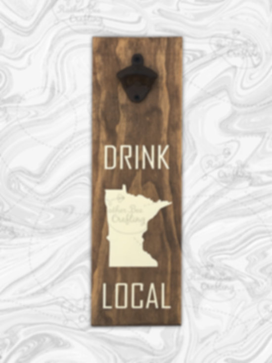 Drink Local - Included bottle opener