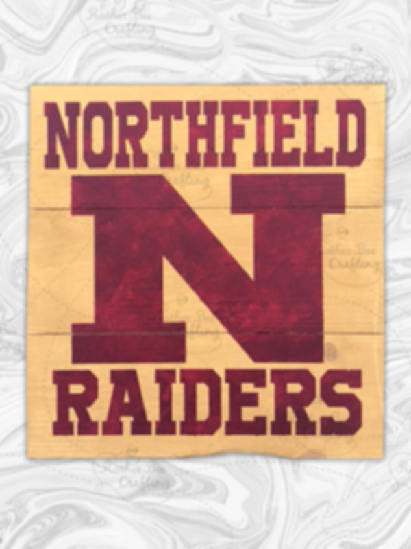 "Northfield Raiders - 10"" x 10"""