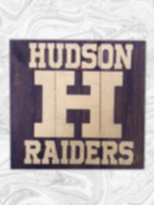"Hudson Raiders - 10"" x 10"""