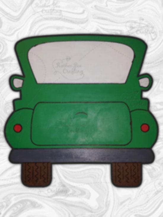 """Vintage Truck 16"""" Design"""