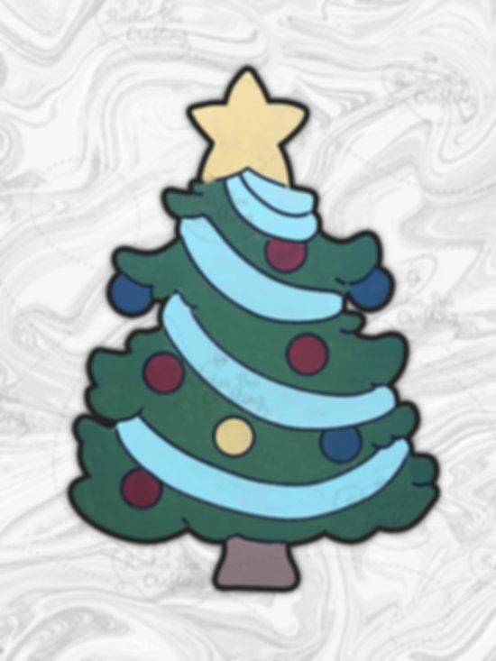 "Christmas Tree 14"" Design"