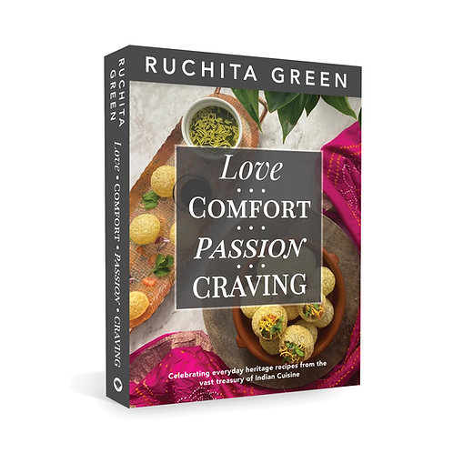 Love, Comfort. Passion, Craving by Ruchita Green