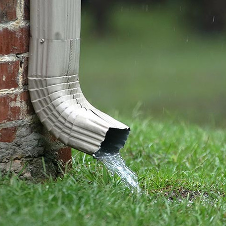 The Ins and Outs of Downspouts......