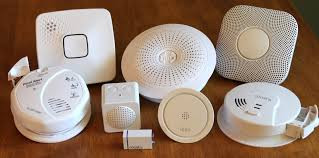 smart smoke detectors alarms, smart carbon monoxide detectors