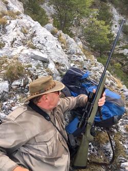 Balkan Chamois Hunter
